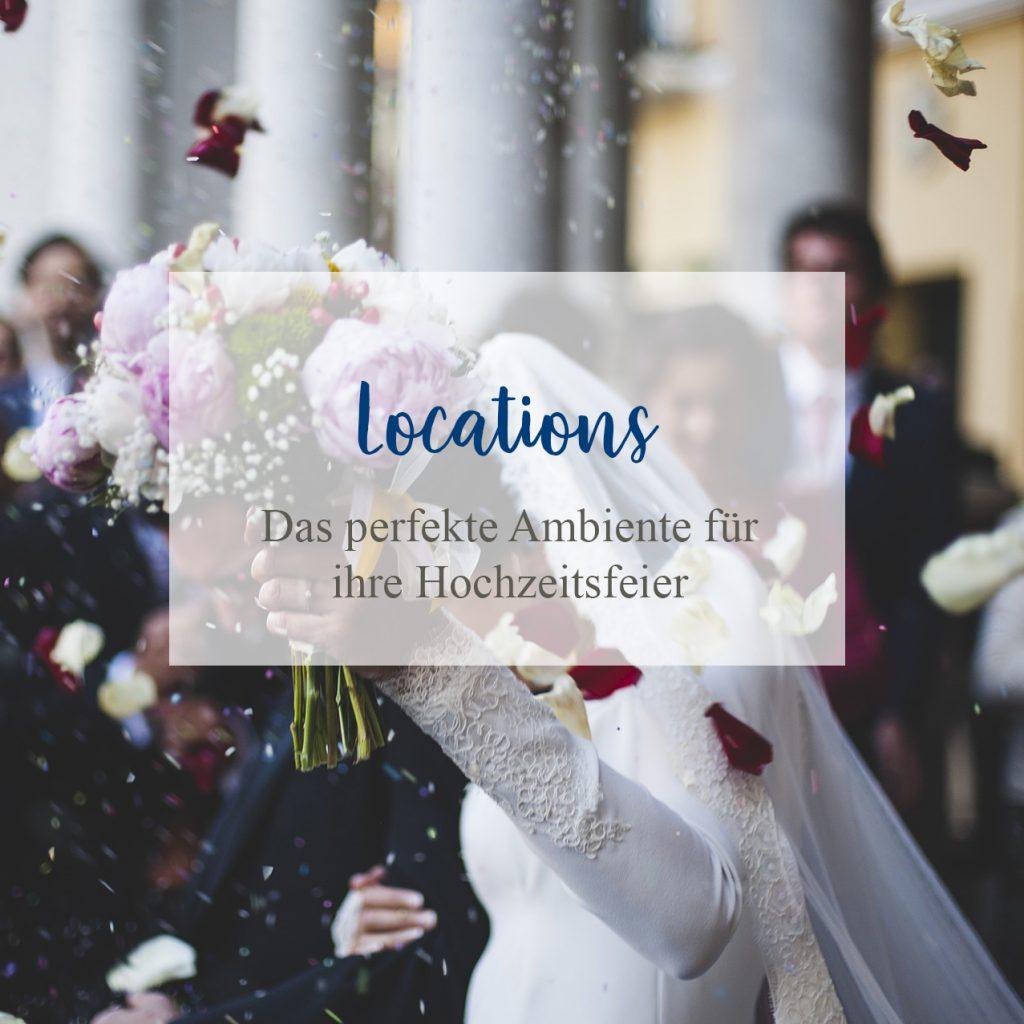 Das perfekte Ambiente für ihr Hochzeitsfeier