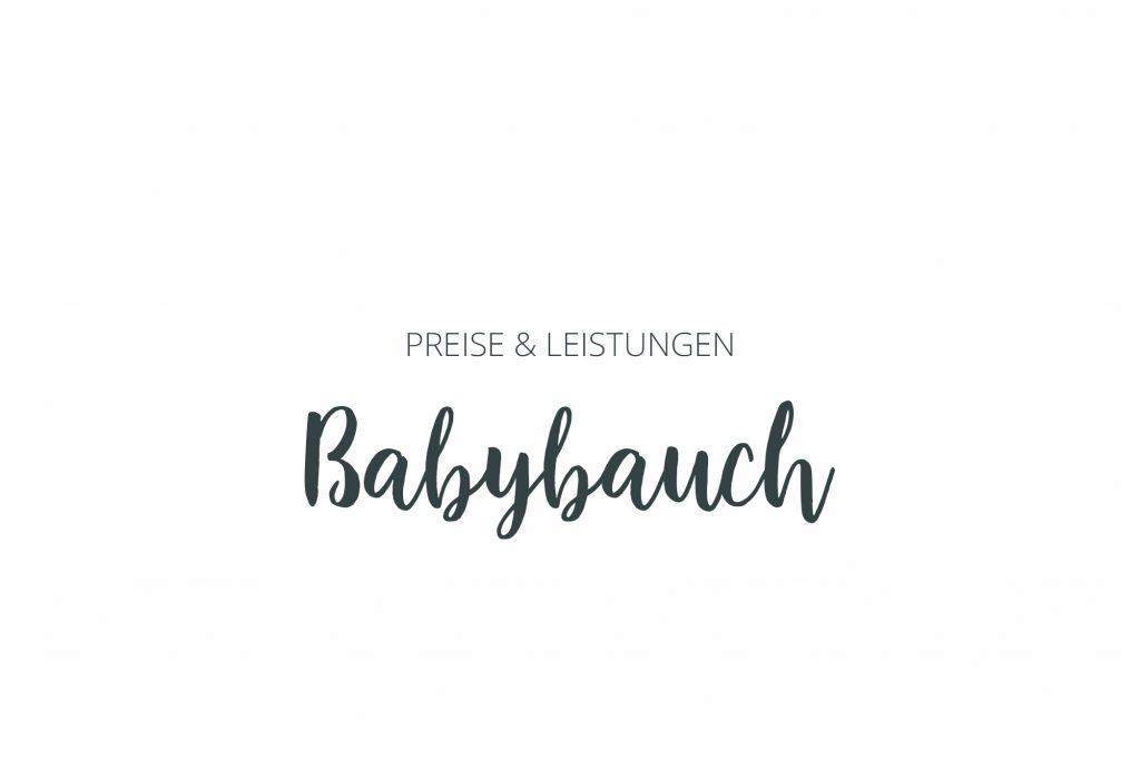 Preise und leistungen Babybauch Fotografie aschaffenburg