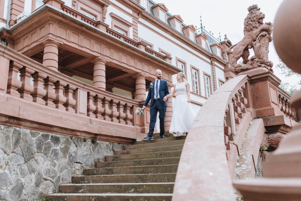 Standesamtliche Hochzeit in Hanau Schloss Philippsruhe