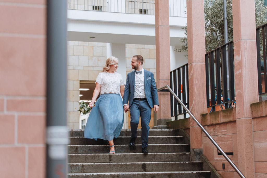 Michele & Marko - standesamtliche Hochzeit in Frankfurt am Römer