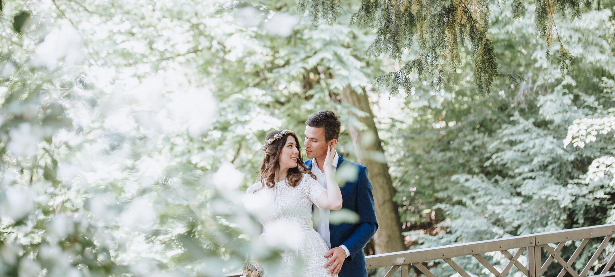 Hochzeitsfotograf in Aschaffenburg - Brautpaarshooting Pompejanum